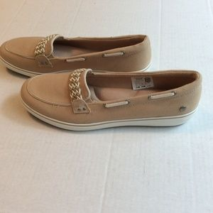 NWOT Grasshoppers Memory Deluxe Canvas Boat Shoes